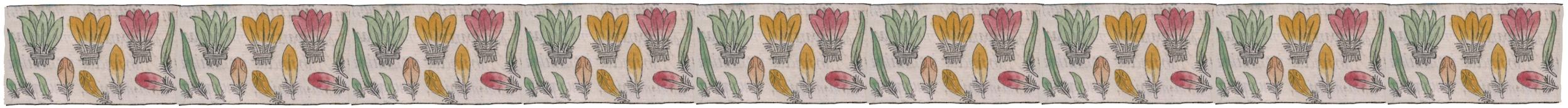 Florentine Codex feathers banner 2