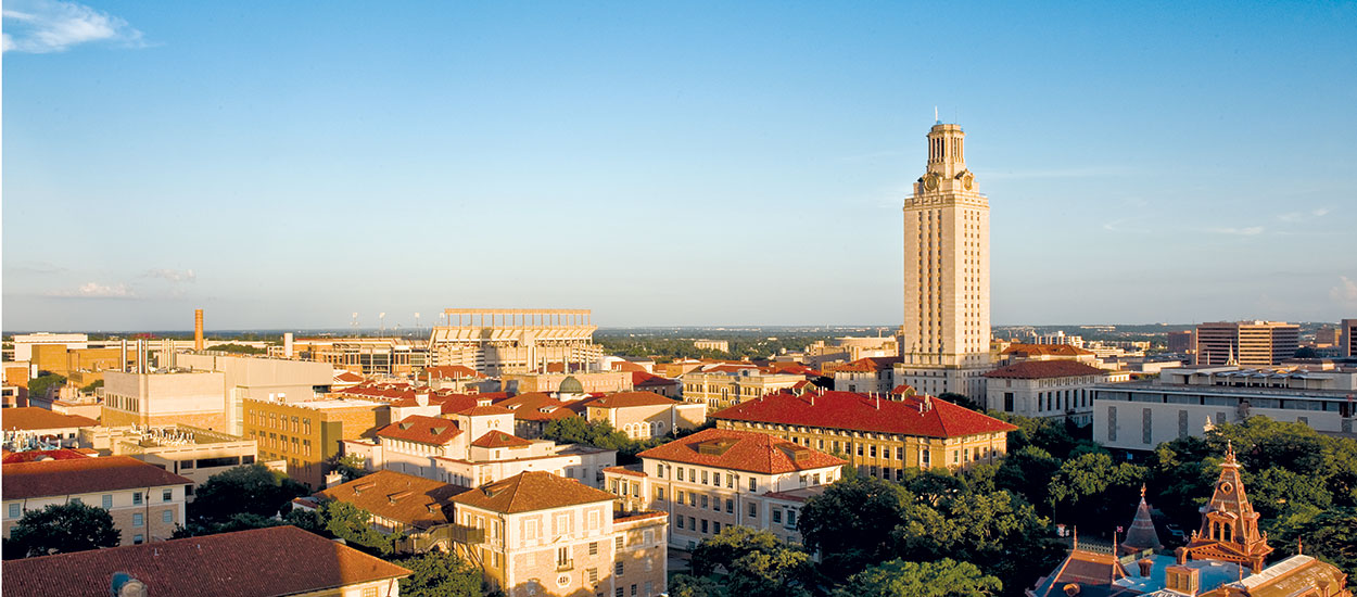 UT Austin campus view
