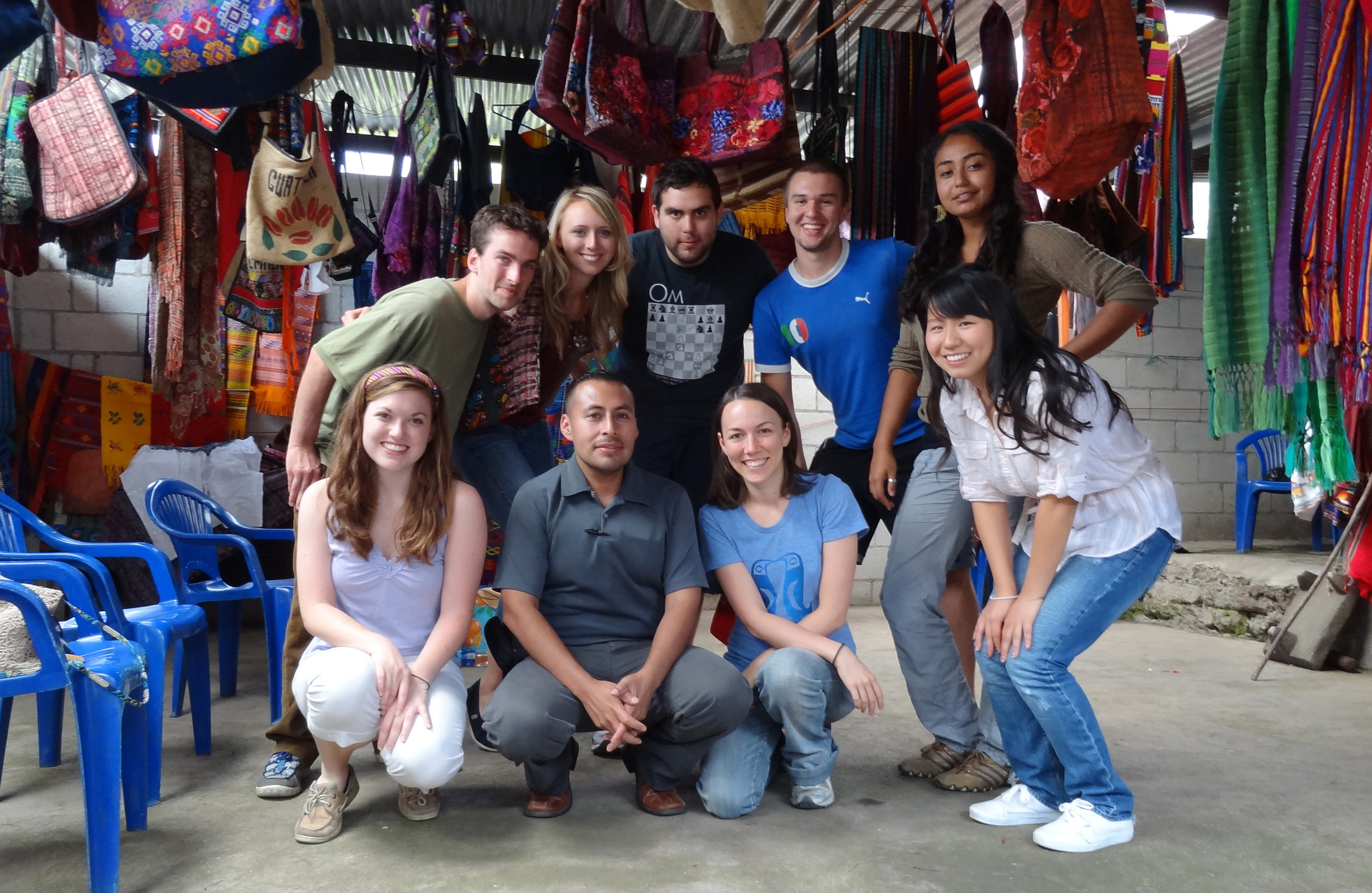 Prof. Urrieta and the Summer 2011 Study Abroad students