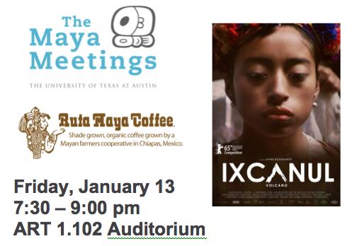 Ixcanul Film Screening - Maya Meetings 2017