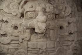 Mask - El Zotz - The 2013 Maya Meetings